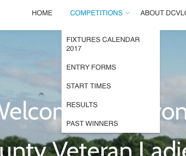 DCVLGA Website Competitions Section