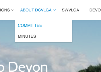 DCVLGA Website Contact Us committee meeting Section